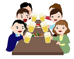 飲み会のイメージ画像